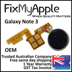 Samsung Galaxy Note 3 Power Button Switch Vibration Motor Flex Cable Replacement