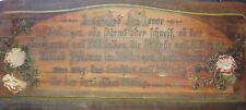 Alter Haussegen Holzschild Hausspruch vor 1945 Deko Landhaus Shabby !