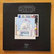 LED ZEPPELIN The Song Remains The Same SWAN SONG Inner SSK 89402 UK VINYL 2LP EX