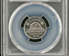 1948 George VI 5 cents CDN  • Grade MS-65
