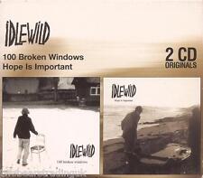 IDLEWILD - 100 Broken Windows/Hope Is Important (UK 2003 Twin CD Album Box Set)