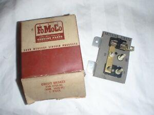 NOS 1951-1954 FORD CAR, 1948-1954 TRUCK LIGHT SYSTEM CIRCUIT BREAKER ASSEMBLY