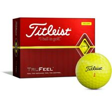 New listing 15 Yellow Titleist Trufeel Golf Balls