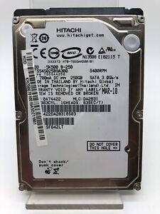 Disque Dur Interne HDD 250Go Hitachi Modèle HTS545025B9A300 d'Occasion!!!