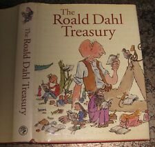 The Roald Dahl TREASURY   Hard book of 444 pages with numerous illustrations