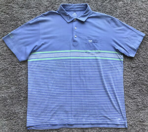 Peter Millar Seaside Wash Scotty Cameron Putter Logo Polo Shirt Men's 2XL