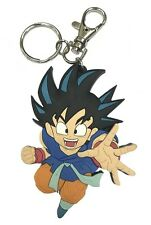 **Legit** Dragon Ball GT Authentic Discontinued PVC Keychain SD Son Goku #3295