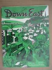 DOWN EAST Maine mag June 1966 Bucksport Ferry NATURE CONSERVANCY 100 Yrs. Togus