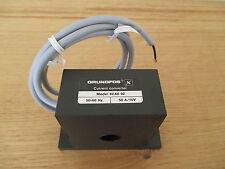 Grundfos Current converter für Motorvollschutz  Model 82.60 92  50A/10V P13/1240