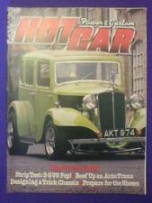 HOT CAR - 3.5 V8 POP - July 1980 vol 13 #4