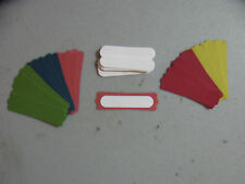 Stampin' Up! New In Color 12-14 Modern Labels/Word Window Punches 40