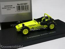 Caterham Super Seven JPE Yellow KYOSHO MODELS 1/43 #03156Y