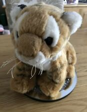 ADORABLE FLUFFY TIGER ZSL LONDON ZOO LIVING CONSERVATION PLUSH SOFT TOY