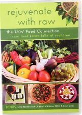 Rejuvenate with Raw DVD RAW Food Connection Nice looking disk PAL Format