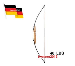 DE 51inch 40 LBS gerade Bogen Straight Bow für Kinder Jugend Bogenschießen Jagd