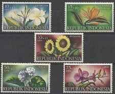 Timbres Flore Indonésie 151/5 ** (37739M)