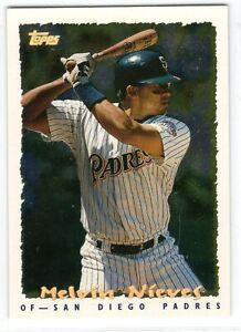 1995 Topps Cyberstats Baseball San Diego Padres Team Set