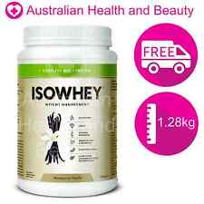 Isowhey Madagascan Vanilla 1.28kg - FREE Australian Shipping