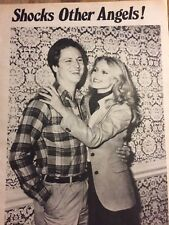 Cheryl Ladd, Charlie's Angels, Richard Dreyfuss, Double Full Page Vintage Pinup