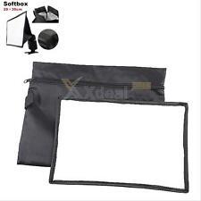 20*30cm Portable SpeedLight Flash Diffuser Soft Box For Canon Nikon Sony Minolta