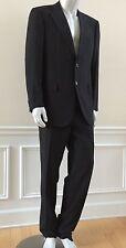 $4800 New ZILLI Dark Brown Wool Silk Suit 42