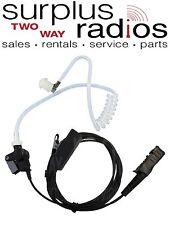 New 2 Wire Nylon Surveillance Headset Motorola XPR3300 XPR3500 XPR3300E XPR3500E