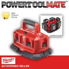 Milwaukee M1418C6 6 Dock Battery Charger 240V