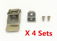 4 Sets x 50mm Metal Spring Clips Clamps For LED Downlight Panel Light Universal