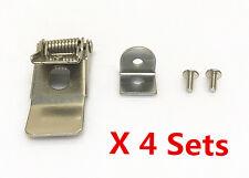 Set di 4 x 50mm Metal Spring Clip Pinze per luce LED pannello proiettorino da incasso universale