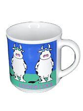 Cow Udder Nipples Gift Morning Milk Cup Double Wall Glass Insulated Tea Mug 8 oz