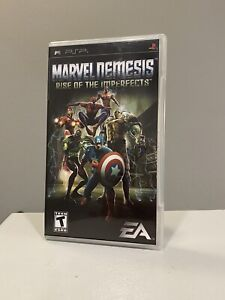 Marvel Nemesis: Rise of the Imperfects ( Sony PlayStation Portable) PSP Complete