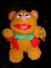 Vtg 80s-1987 McDonald's Baby FOZZIE Teddy BEAR Plush Muppets Toy Stuffed Animal