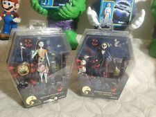 Nightmare Before Christmas Jack & Sally Action Figs Series 1 Jun Planning New