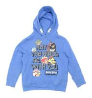 Next Boys Graphic Blue Angry Birds Star Wars Hoodie Age 7 Years