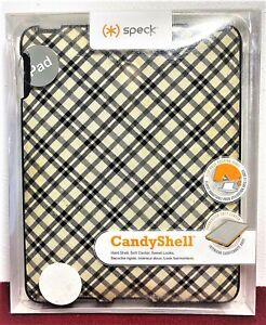 🖥 Speck Candy Shell iPad Protective Cover:  Black and White:  New Never Used 🖥
