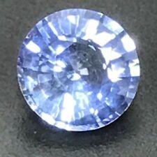 Natural 0.97 Carat 6mm Round Blue Sapphire Genuine Loose Gemstone Ceylon Gem