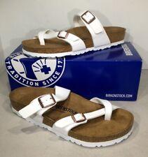 Birkenstock Mayari Women's Size 10/EU41 Reg White Birko Slide Sandals X5-648