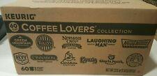 60 Count Keurig K-Cups, Coffee Lovers' Variety Pack