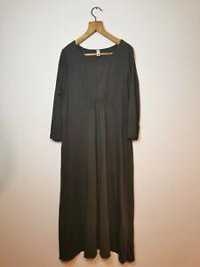 Wendy Trendy Lagenlook Grey Maxi Dress Italy One Size