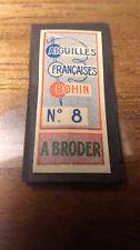 pochettes d'aiguille de colection