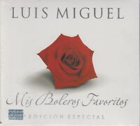 Mis Boleros Favoritos NEW Luis Miguel 1 CD / 1 DVD SHIPS NOW !