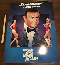 🔫  SEAN CONNERY JAMES BOND NEVER SAY NEVER WARNER BRO MOVIE SCREENING SHEET!