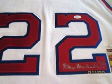 DAVE DEBUSSCHERE Signed(Mitchell Ness)1962-63 Pistons Jersey -JSA Authenticated