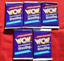 1991 WCW WRESLING 5 UNOPENED PACKS