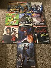 Official Strategy Guide Lot Of 10 Prima Games Capcom
