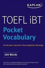 TOEFL Pocket Vocabulary 600 Words + 420 Idioms + Practice Quest.#8440