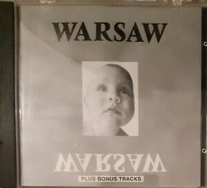 Joy Division -Warsaw- Plus Bonus Tracks CD