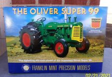 New ListingThe Franklin Mint Scale 1:12 The Oliver Super 99 Tractor In Box With Documents