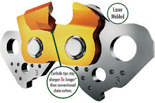 """Full Chisel Forester Carbide Chain,CAR20FC-66E 16""""Fits Mid Size Husky .325 Pitch"""