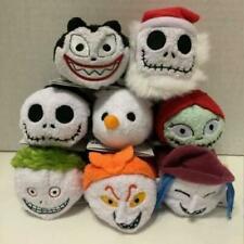 "Hot Set of 8 TSUM TSUM NIGHTMARE BEFORE CHRISTMAS Plush Mini Toys 3 1/2"" New"